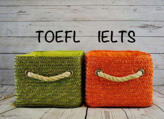 雅思對照托福- IELTS vs TOEFL